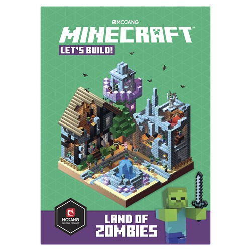 Photo of Minecraft: Let's Build! Land of Zombies Book
