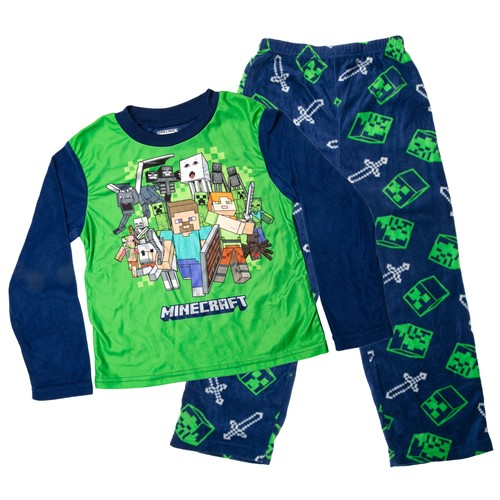 Photo of Minecraft Night Adventures Youth Pajama Set