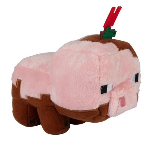 Photo of Minecraft Earth Happy Explorer Muddy Pig Plush