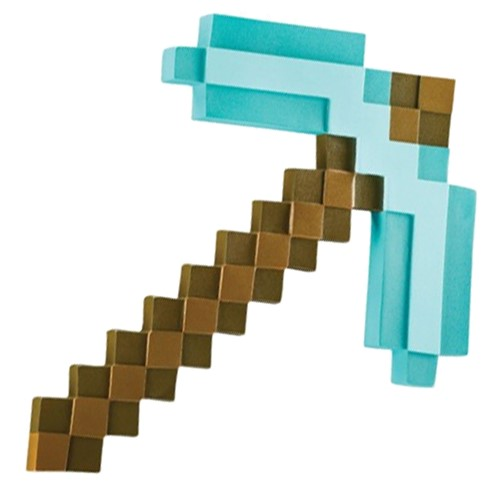 Photo of Minecraft Diamond Pickaxe Roleplay Toy