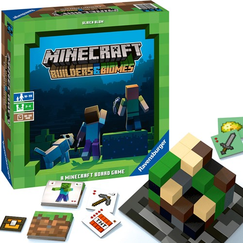 Photo of Minecraft: Builders & Biomes Board Game