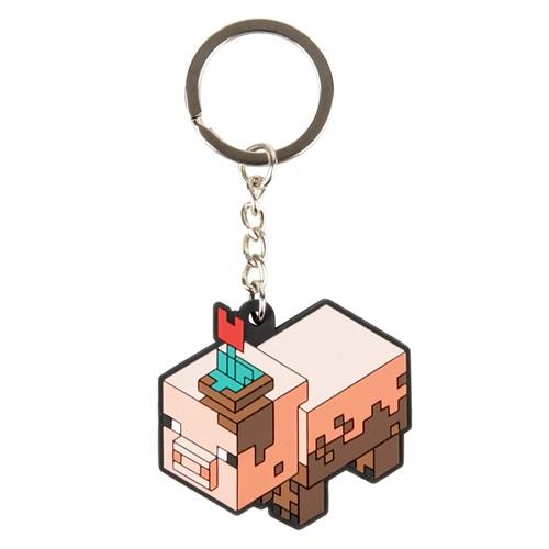 Photo of Minecraft Earth Muddy Pig Keychain