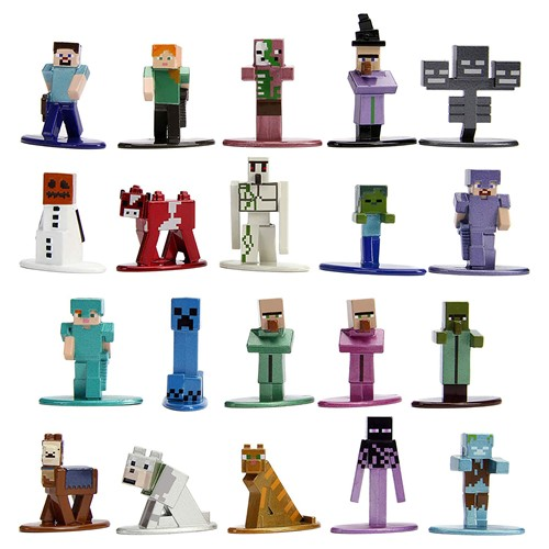 Photo of Minecraft Nano MetalFigs 20-Pack, Wave 2