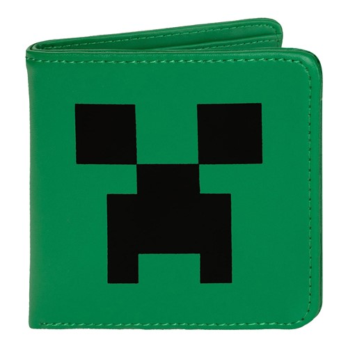 Photo of Minecraft Creeper Face Faux Leather Wallet