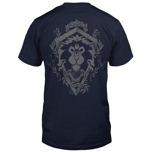 Photo of World of Warcraft Alliance Lion Crest Pocket Tee