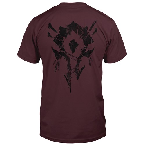 Photo of World of Warcraft Horde Bones Crest Pocket Tee