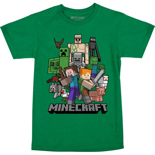 Photo of Minecraft All Aboard Youth Tee
