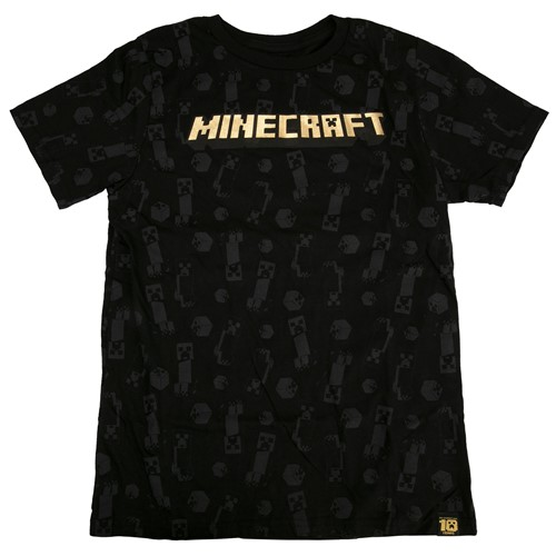 Photo of Minecraft 10 Year Anniversary Celebration Youth Tee