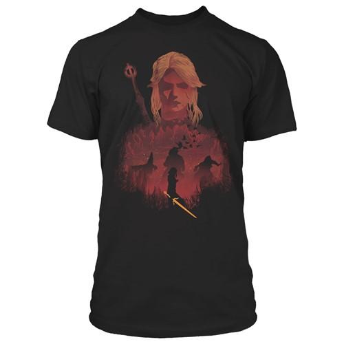 Photo of The Witcher 3 Ciri and Crones Premium Tee