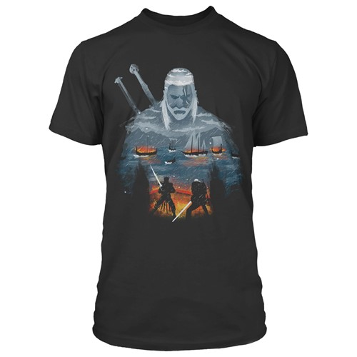 Photo of The Witcher 3 Geralt and Eredin Premium Tee